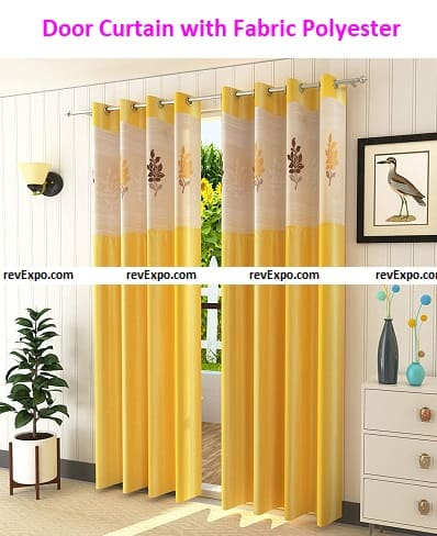 Door Curtain with Fabric Polyester