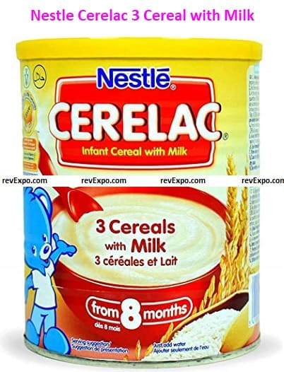 Nestle Cerelac 3 Cereal with Milk