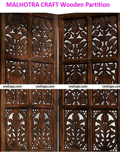 MALHOTRA CRAFT HOUSE Wooden Partition