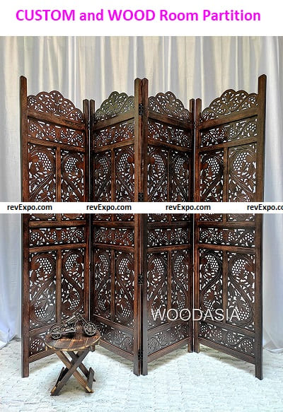 CUSTOM and WOOD Room Partition
