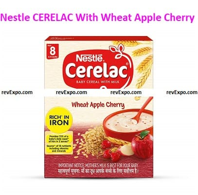 Nestle CERELAC With Milk and Wheat Apple Cherry