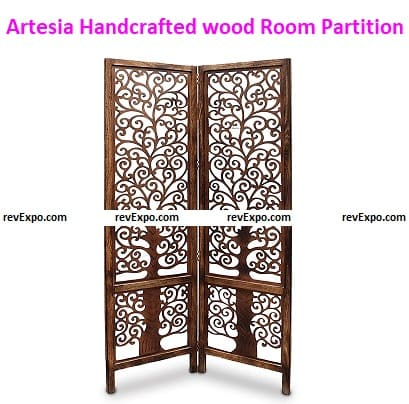 Artesia Handcrafted Wooden Room Partition