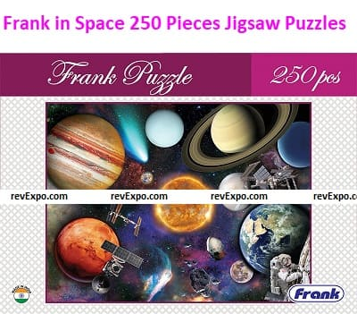 Frank in Space 250 Pieces Jigsaw Puzzles