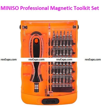 MINISO Professional Magnetic Toolkit Set
