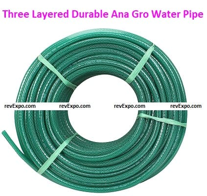 Three Layered, Top-Quality, and Durable Ana Gro Water Pipe