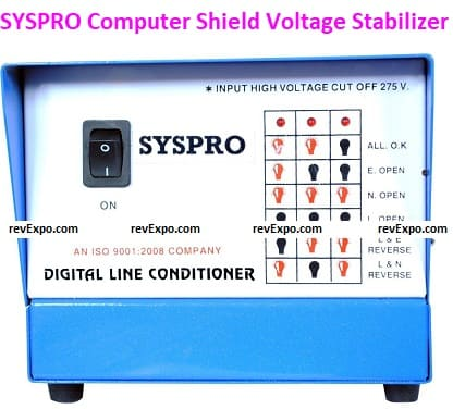 Computer Shield Voltage Stabilizer and Tabletop Stabilizer