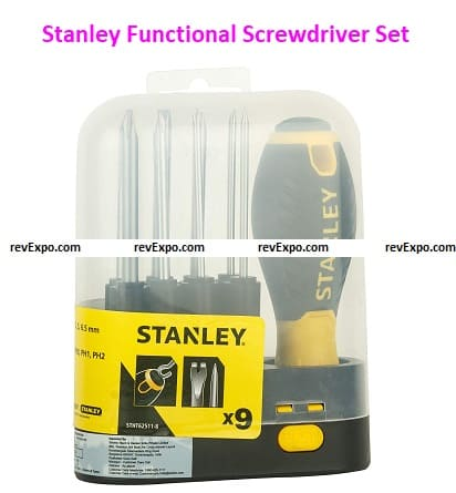 Stanley Functional and Useful Screwdriver Set