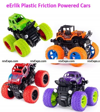 Friction Powered Cars