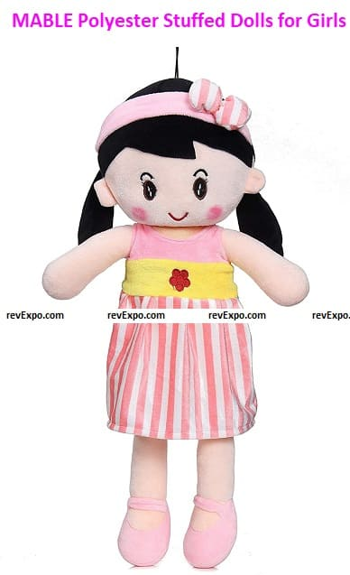 MABLE Polyester Stuffed Dolls for Girls