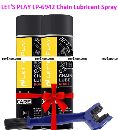 LET'S PLAY LP-6942 Chain Lubricant Spray
