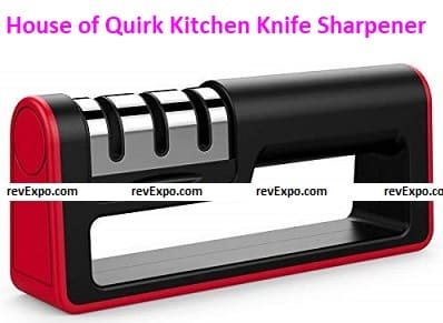 House of Quirk Upgraded Kitchen Knife Sharpener