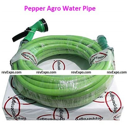 Pepper Agro Water Pipe – Multiple Colors Available