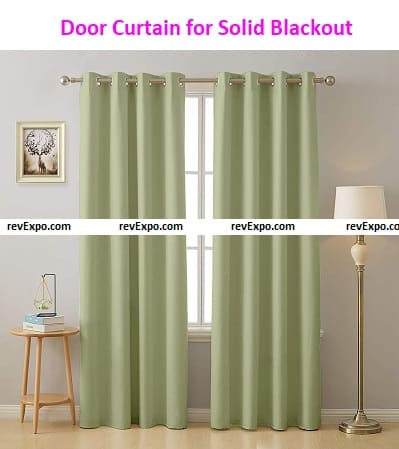 Door Curtain for Solid Blackout