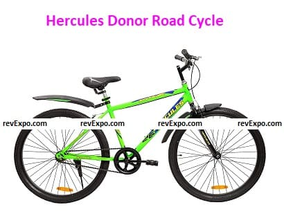 Hercules Donor Pro RF 26T Single Speed Road Cycle