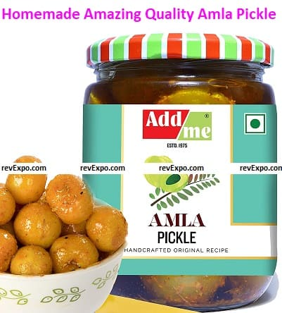 Homemade Amazing Quality Amla Pickle by Add Me