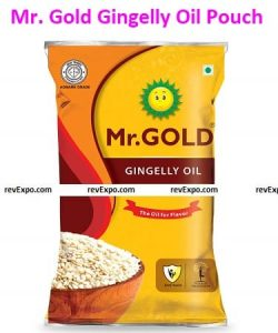 Mr. Gold Gingelly Oil Pouch