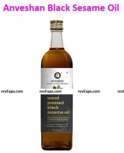 Anveshan Empowering farmers with technology Wood Cold Pressed Black Sesame Oil