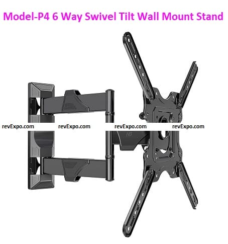 Model-P4 Wall Mount for TV's