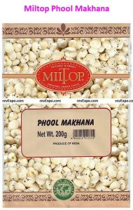 Export Quality Phool Makhana by Miltop