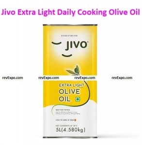 Jivo Extra Light Daily Cooking Olive Oil 5 Litre