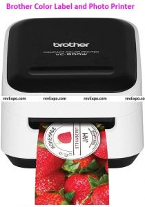 Brother VC-500W Color Label and Photo Printer