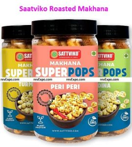Saatviko Makhana Organic and Excellent Quality Snack