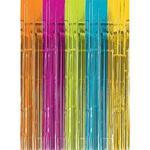 amscan 242001-90 Multi-Colour Fringe Door Curtain-1 Pc