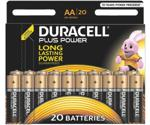 Duracell Plus Power AA, 20 pieces