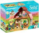 Playmobil Spirit - Barn with Lucky, Pru & Abigail (70118)