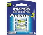 Wilkinson Protector3 Razor Blades (4 x)