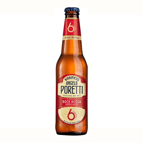 Poretti 6 Luppoli Bock Roja (33 cl.)