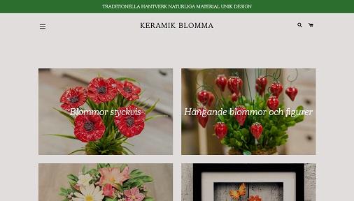 Keramik Blomma