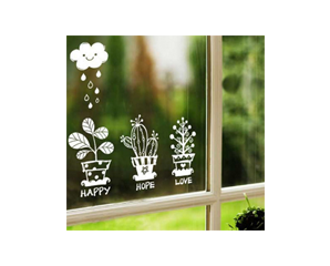 Decal Pretty Garden