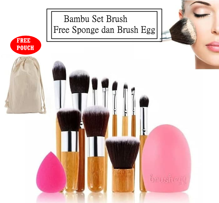 Bamboo Wooden Brush (11 sets)