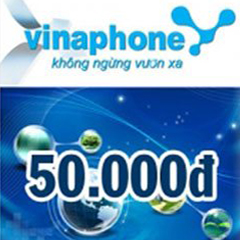 CARD ĐIỆN THOẠI VINAPHONE 50