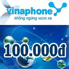 CARD ĐIỆN THOẠI VINAPHONE 100
