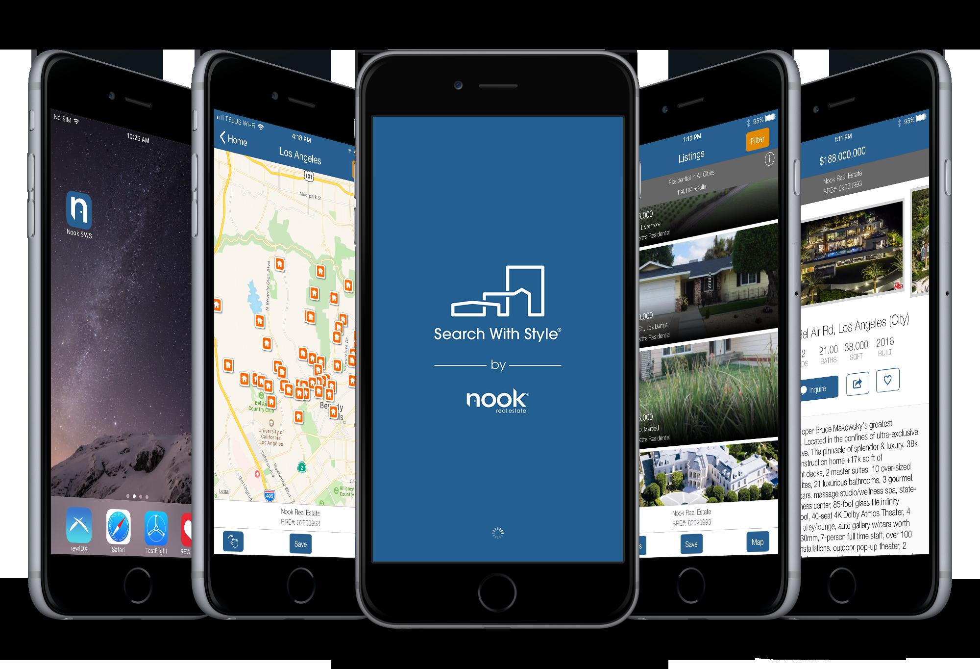 Nook's REW IDX App