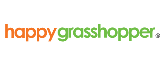 happy grasshopper logo