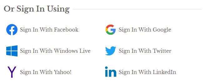 IDX Social Connect Branding