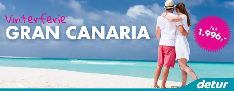 Til Gran Canaria med detur