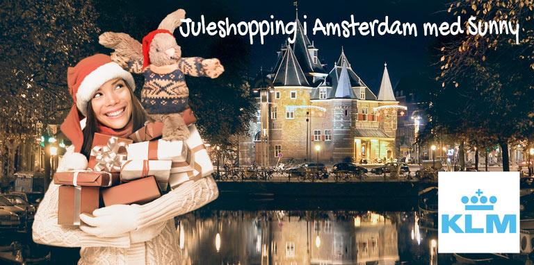 Med KLM, Sunny og afbudsrejser.dk til Amsterdam