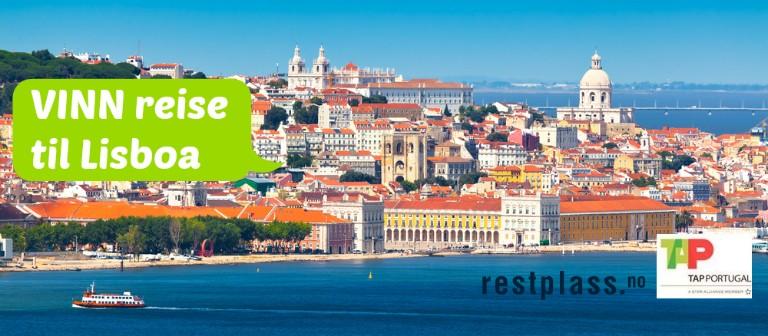 Vinn 2 flybilletter til Lisboa