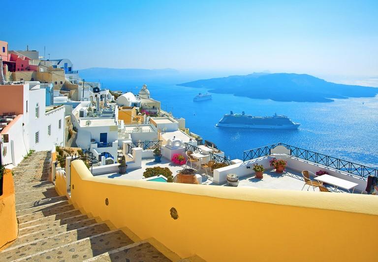 De billigste reisene akkurat nå til 12 greske øyer