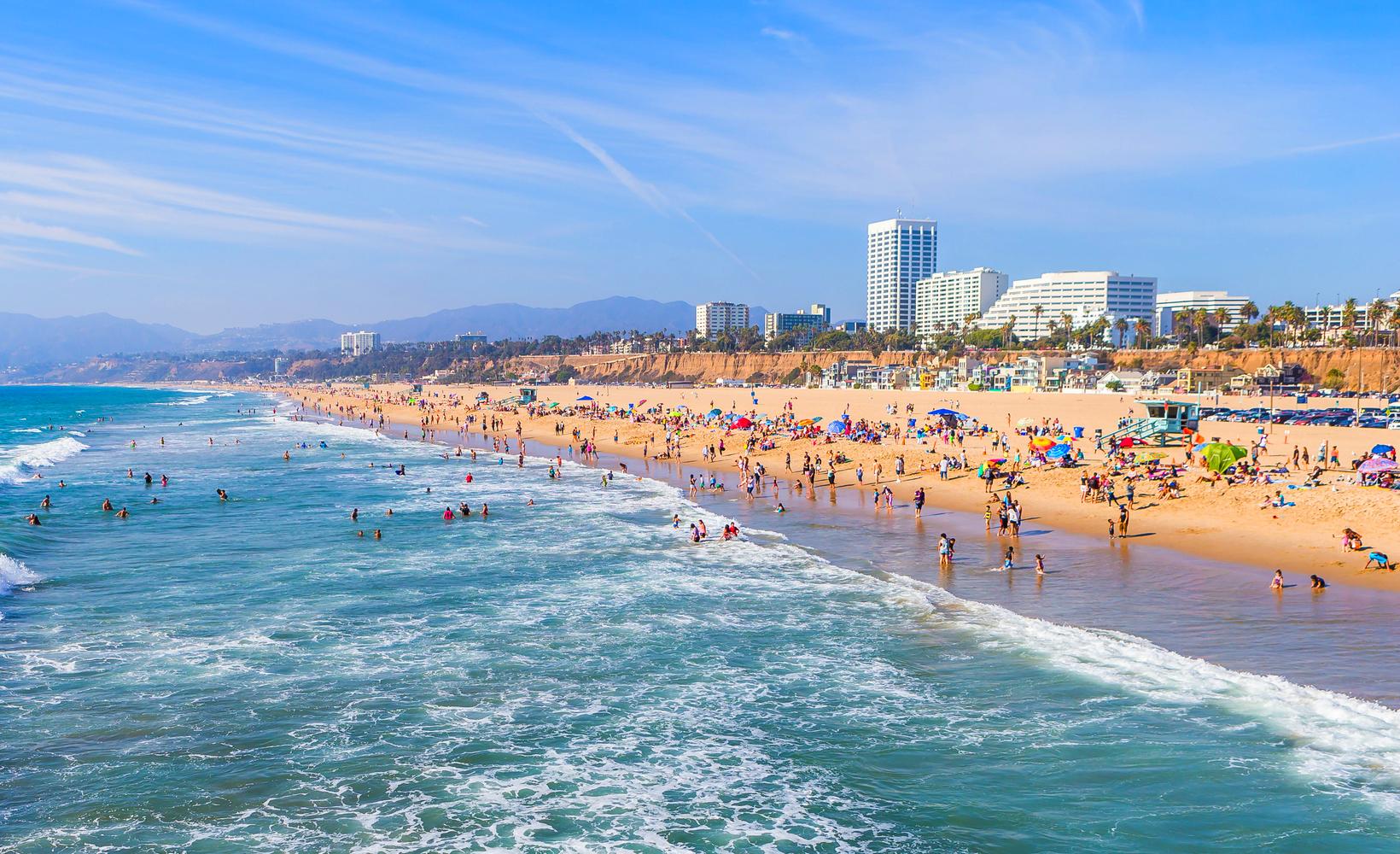 SantaMonica-Kalifornien-Strand-Thinkstock534610535