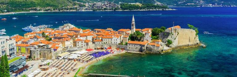 Billigaste resorna till Montenegro från hela Sverige