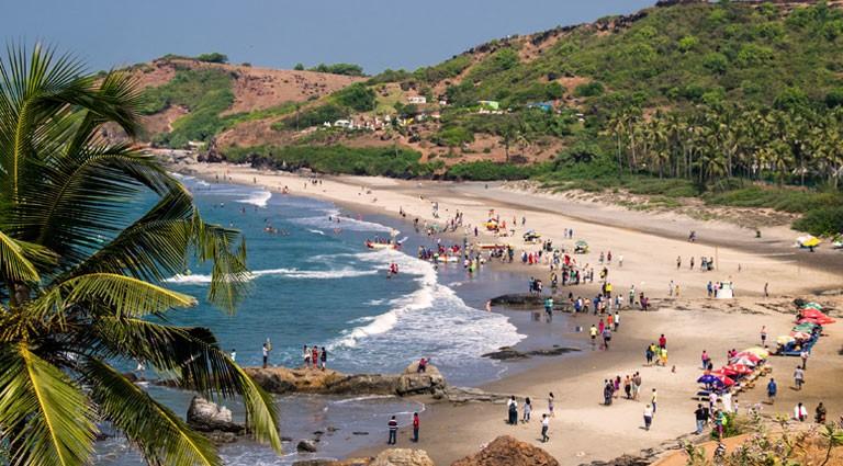 Her de 5 beste strendene i Goa