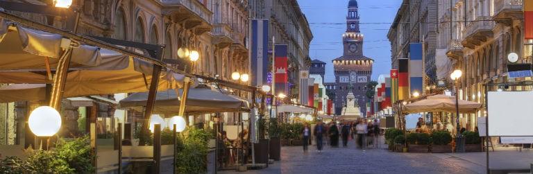 Billiga paketresor till Milano