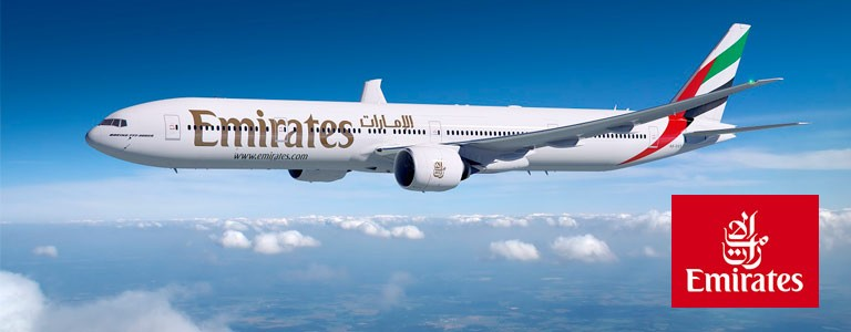 Emirates - Äventyrliga priser till utvalda resmål