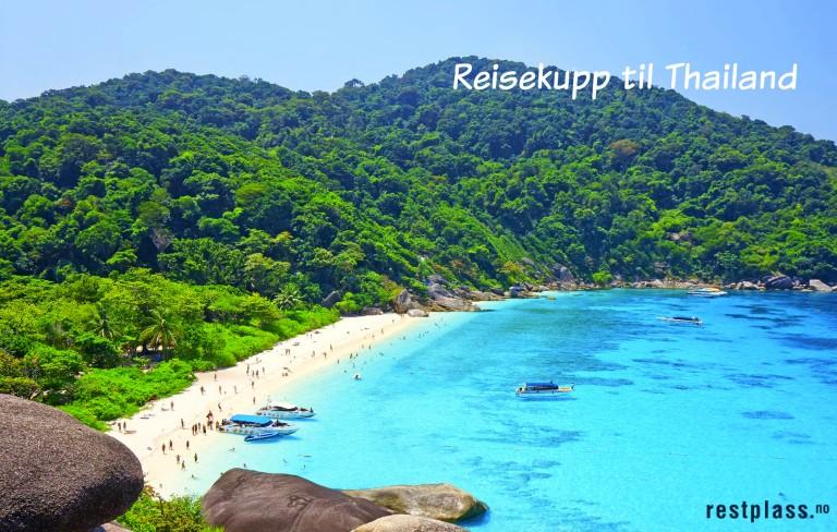 Billigste reise til Thailand i januar og februar