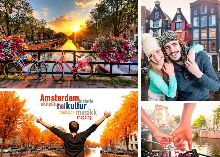 Amsterdam by og kultur